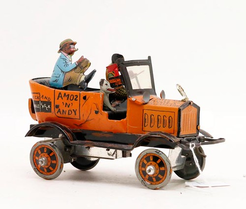 Nice Amos & Andy Fresh Air tin lithograph taxi ($212.80)