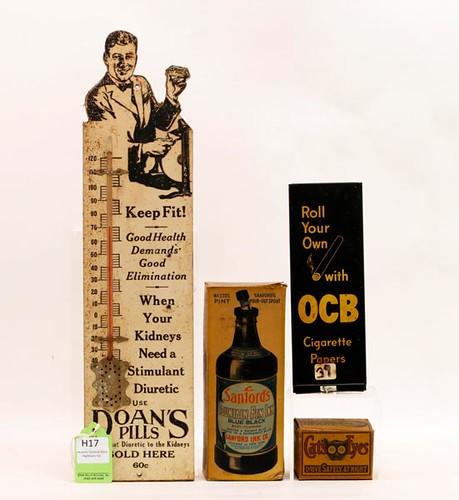 Dolan's Advertising Thermometer - far left- ($246.40)