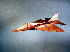 Panavia Tornado - Franco Pavarin (Rui.Roda) Tags: origami papiroflexia papierfalten plane avião avion jato jet jacto panavia tornado franco pavarin