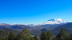 Mt. Saint Helens and Adams (Eclectic Jack) Tags: helens saint st mt mountain state washington observatory johnson snow white ash october 2019 lookout volcanoes