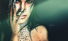 . s h i n e   b r i g h t   l i k e   a  💎 . (Cataleya.) Tags: diamond shine photoshop sl secondlife unreal avatar digital painting cataleya fakeicon