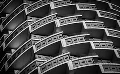 One Park Drive (benjaminjohnson1983) Tags: 2019 blackwhite canarywharf dynamic herzogdemeuron london londonvisit2019dec oneparkdrive repetition shadow shapes skyscraper woodwharf cylindrical theisleofdogs flickr