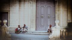 Siesta!!!! (vale0065) Tags: people mensen siesta rust deur door kerk church stair trap village dorp malta island eiland