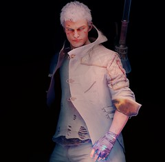 White (The Bearer Of Victory) Tags: devilmaycry5 capcom reshade