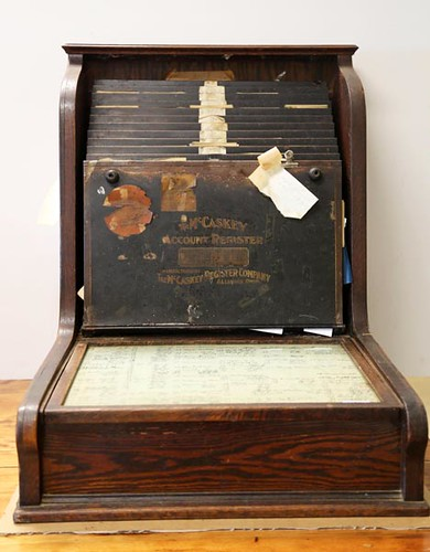 McCaskey receipt register with Highland names ($784.00)