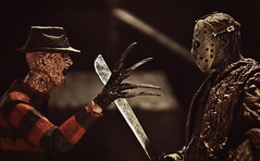 Freddy vs. Jason (RK*Pictures) Tags: jason lake grave death curse killer mother jasonvoorhees fridaythe13th friday 13 blood doomed murder slasher horror campblood crystallake camp child actionfigure toy diorama tombstone headstone epigraph rip rest goaliehockeymask hockeymask mask campcrystallake boy slasherfilm horrormovie cult classic axe slaughter sackhead traumaticexperience shack urbanlegend woods cabin pamelavoorhees neca reanimated machete ultimate resurrected supernatural serialkiller undead forest son graveyard teens cremate body deadbodies corpse evil barn rkpictures freddyvsjason dream room anightmareonelmstreet freddykrueger actionfigurephotography toyart toyphotography mashup nightmare
