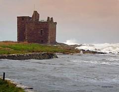 Portencross Brendan2 (g crawford) Tags: portencross ayrshire northayrshire storm stormy brendan stormbrendan wind windy gale water sea seaside clyde riverclyde firthofclyde weather scotland scottish scottishweather bythesea panasonic lumix tz70 crawford westkilbride castle portencrosscastle