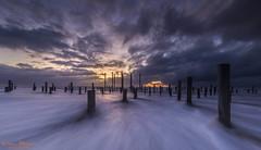 Springtij in Petten (Wim Boon Fotografie) Tags: canoneos5dmarkiii canonef1635mmf4lisusm leefilternd09softgrad wimboon storm petten nederland netherlands natuur nature beach holland