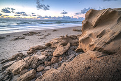Just Another... (SaM FaST) Tags: israel sunset skies sky sea beach outdoor outdoors winter clouds waves rocks sand dusk nature sony sonya6300 il wide
