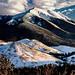 Digital Oil Painting of the San Francisco Peaks by Charles W. Bailey, Jr.