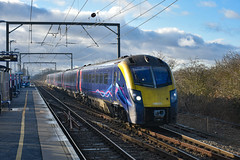 180109 - Waterbeach - 12/01/20. (TRphotography04) Tags: debranded hull trains adelante 180109 passes through waterbeach diverted 1h02 1000 london kings cross service