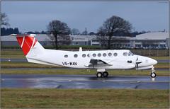 IMG_6329SFL17 (Gerry McL) Tags: beechcraft 350 kingair aircraft airplane ferry flight glasgow scotland egpf gla