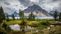 Bow Lake in Banff National Park