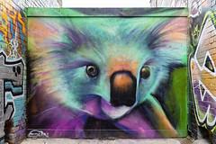 Silly Blender Lane 2020-01-11 (5D4_9373) (ajhaysom) Tags: blenderlane silly koala canoneos5dmkiv canon1635l melbourne streetart graffiti australia