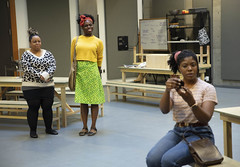 School Girls; Or, The African Mean Girls Play in Rehearsal (Portland Center Stage at The Armory) Tags: schoolgirlsortheafricanmeangirlsplay rehearsal rehearsalhall