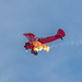Caught The Flame From Stunt Pilot Vicky Benzing Intentional Engine Stall and Restart.