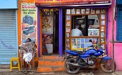 India- Karnataka- Bijapur (venturidonatella) Tags: india bijapur karnataka asia street strada colori colors persone people gentes gente nikon nikond500 d500 portrait ritratto streetscene streetphotography streetlife emozioni paper giornale quotidiano reading moto