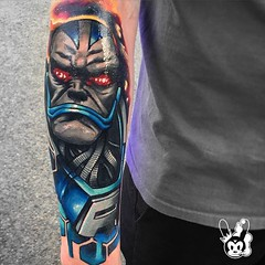 marvel tattoo apocalypse (inksteady) Tags: star wars tattoo orlando florida best top ten ink inked tattoos tattooed xmen marvel dc comic movie pop culture award winning color new school black grey traditional brevard melbourne beach disney universal