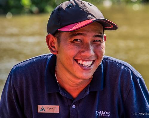 2019 - Vietnam-Avalon-Long Khanh A - 16- Xáng Canal - Siem Reap Boat Crew