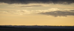 A Very Distant Copse (Steve Dewey) Tags: salisburyplain wiltshire landscape 2351 sunset copse clump distant haze hazy widescreen sonya7r2 sony70400g