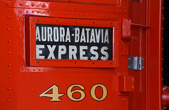 Batavia Express (Marco Moerland) Tags: chicago aurora elgin chicagoauroraelgin 460 batavia expres express filmkast destination sign route bestemming doel ziel front illinois zielanzeiger bestemmingsaanduiding typografie typography lettering cijfers numbers letters klinknagels nagel rivets staal steel railroad museum interurban interurbans line south shore bend usa america amerika vs verenigde staten trein train rolling stock heavy interlokaal interlokale spoor spoorweg eisenbahn bahn chemin fer railway rail red rood rot rouge