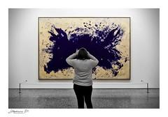 Framing (stephane_p) Tags: museum pentax selectivecolor darktable modernart