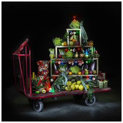 Buon Natale! Merry Christmas (Sergio Vollono) Tags: approvato lightpainting natale albero alberodinatale sergiovollono wwwsergiovollonophcom