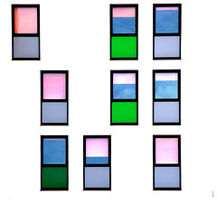 Open and Closed (thewolfe(jim)) Tags: jimwolfe windows blinds architecture colour 9