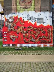 Samor / DOK centrale - 13 jan 2020 (Ferdinand 'Ferre' Feys) Tags: gent ghent gand belgium belgique belgië streetart artdelarue graffitiart graffiti graff urbanart urbanarte arteurbano ferdinandfeys