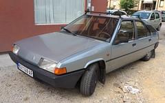 1984 Citroen BX 19 TRD (FromKG) Tags: citroen bx 19 trd grey car kragujevac serbia 2019