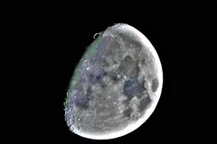 P1090385 (TaffTravels10) Tags: wales wrexham moon night nightime