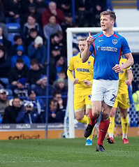 Sean Raggett (Packhorsetravel) Tags: portsmouthvwimbledonafc skybet leagueone 11012020 photobarryzee portsmouth hampshire england seanraggett