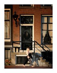 57 (Dan Haug) Tags: amsterdam july 2019 street streetphotography nederland netherlands paysbas europe warm pedestrian framed brownstone xpro2 xf35mmf14r fujifilm fujixseries mirrorless