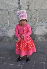 Girl in Pink Clothing Oaxaca Mexico (Ilhuicamina) Tags: girls nina children oaxaca mexico ropa clothing