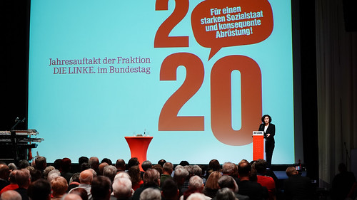 12.01.2020 Politischer Jahresauftakt im Kosmos; Berlin