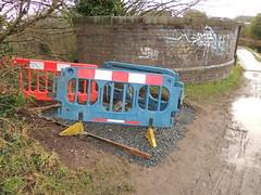 McClean Way - 4 - 008 (touluru) Tags: the mcclean way back track smithys forge brownhills bridge miners island a5 watling street sustrans railway paths ltd network rail canal aqueduct ogley hay road a5195