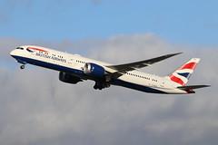 G-ZBKO Boeing 787-9 LHR 12.1.2020 (Retro Jets) Tags: ba b789 lhr