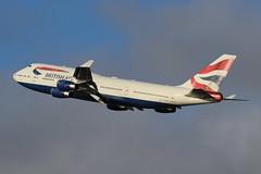 G-CIVH Boeing 747-436 BA281 to LAX (Retro Jets) Tags: b744 ba lhr
