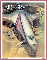 Air & Space Smithsonian - Orient Express - 1986 (StarRunn) Tags: airspace smithsonian future 1980s barronstorey magazinecover orientexpress aerospaceplane space