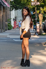 Wrist On Hip (ViewFromTheStreet) Tags: allrightsreserved blick blickcalle blickcallevfts calle chestnut chestnutstreet copyright2019 oldcity oneway pennsylvania philadelphia photography stphotographia streetphotography viewfromthestreet amazing blackskirt blouse boots candid candideyecontact classic eyecontact fashion fashionsense fashionable female girl old olde purse shortskirt street streetfashion streetportrait streetstyle style stylish tinyskirt vftsviewfromthestreet watch woman ©blickcallevfts ©copyright2019blickcalle