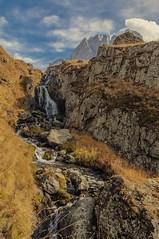 Caucasian waterfall (E-C-K ART) Tags: caucasus mountain mountains wild nature georgia kazbegi juta landscape scenery