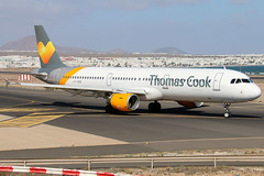 LY-VED (GH@BHD) Tags: lyved airbus a321211 tcx thomascookairlines avionexpress arrecifeairport lanzarote a321 a321200 ace gcrr arrecife aircraft aviation airliner