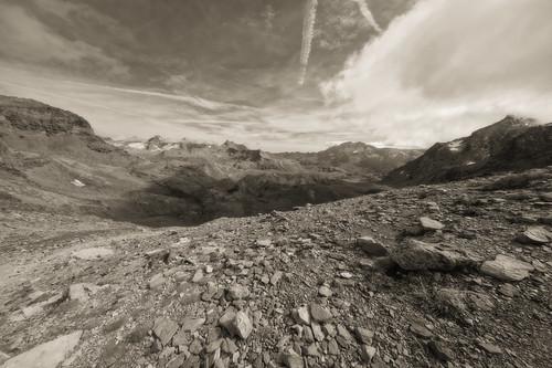 Ultra-wide from Nivolet highs (Col Rosset 3060 mt.)