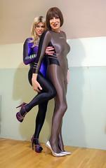 Leohex_3 (Katrina _Transdoll) Tags: lycra tights leohex highheels crosssdressers shiny shinylegs trans pantyhose transvestites transisbeautiful