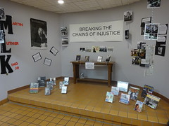 Martin Luther King Jr Display