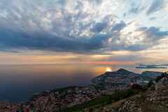 Dubrovnik Sunset (H. P. Filho) Tags: dslr apsc canoneosrebelt5i canonefs1018mmf4556isstm photoshoplightroom europe croatia dubrovnik city sunset clouds sky sea islands horizon sunrays cablecar vtw bsl 50view 100view faved 2fav 1cmt expo 3fav explored 250view 500view 1000view 2500view 5fav 10fav 25fav 50fav 100v10f 5000view 100fav 250fav 2cmt 3cmt 5cmt 10000view 10cmt 2expo 3expo 4expo