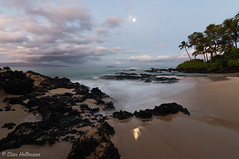 Maui, Hawaii (stanhellmann) Tags: fullmoon ocean maui hawaii palmtrees seaside sunrise nikond850 tokina seascape reflections