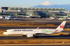 日本航空 Airbus A350-941 JA03XJ (Manuel Negrerie) Tags: 日本航空 airbus a350941 ja03xj jal jl hnd fujisan japanairlines aviation jetliners livery logo graphic canon photography airport airliners planes spotting sight avgeeks a350 a350xwb xwb travel japan tokyo runway