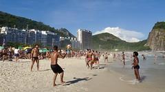 Leme beach (alobos life) Tags: leme happy players ball copacabana nice beautiful cute brazilians boys garotos rio de janeiro brasil brazil beach playa mar sea sunga