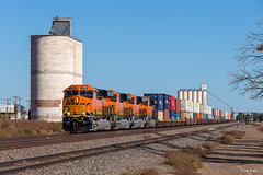 BNSF 8160 West at Texico, NM (thechief500) Tags: bnsf herefordsubdivision railroads texico nm usa